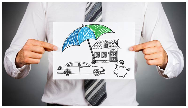 Umbrella Insurance Illustration
